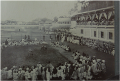 The royal training ground, Baroda