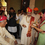 Coronation Ceremony of HH Samarjitsinh Gaekwad
