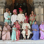 Ever so regal and elegant royal family of Baroda