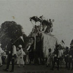 Procession to Shree Vithal Mandir. 27.04.1939