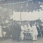 Opening Ceremony of Patan Water Works By His Highness ( 19th Jan 1915)