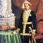 Raja Ravi Verma Painting of His Highness